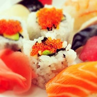 Photo taken at The Sushi Bar 1 by bee on 8/26/2012