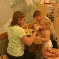 Photo taken at Marble Slab Creamery by Elisa K. on 5/19/2012