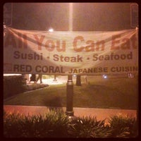 Photo taken at Red Coral Sushi by Doug M. on 1/14/2012