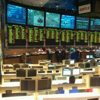 Photo taken at Bally's Sportsbook by Steven S. on 2/5/2012