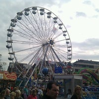 Photo taken at Kermis Leiden 3 oktober by Arne T. on 10/3/2011