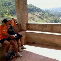 Photo taken at Santuario Della Madonna Del Monserrato by Roberto S. on 7/31/2011