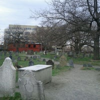 Photo taken at Salem Witch Trials Memorial by Kahlee M. on 3/24/2012