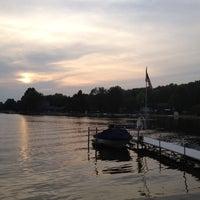 Photo taken at Scram Lake by Michael D. on 8/31/2012