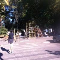 Photo taken at Plaza de Armas by Simon B. on 3/22/2012