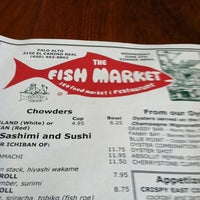 Photo taken at The Fish Market by Clarence G. on 6/7/2012