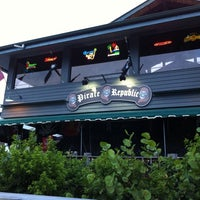 Photo taken at The Pirate Republic Seafood & Grill by Brian R. on 7/13/2011