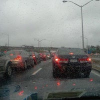 Photo taken at Belt Parkway by Wil Z. on 10/27/2011