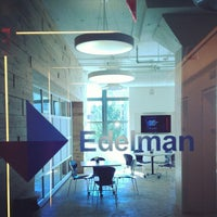 Photo taken at Edelman by kyle w. on 7/25/2012