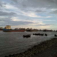 Photo taken at patenga Beach by Shajid N. on 8/26/2012