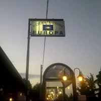 Photo taken at Pizzeria Europa by Glen O. on 7/12/2011