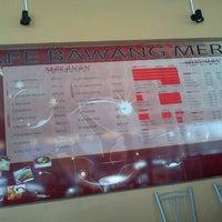 10/24/2011 tarihinde Asrulhisyam H.ziyaretçi tarafından Cafe Bawang Merah'de çekilen fotoğraf