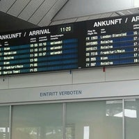 Photo taken at Blue Danube Airport Linz (LNZ) by Bàrbara F. on 6/22/2012