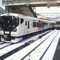Photo taken at Minami-Otari Station by s-51 on 12/17/2011