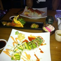 Photo taken at Tee Jay Thai Sushi by Michelle C. on 2/8/2011