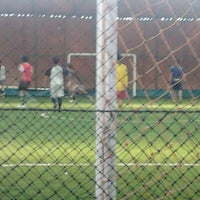 Photo taken at Futsal Galuh Mas by Menel S. on 1/15/2012