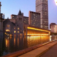 Photo taken at Christian Science Reflecting Pool by David L. on 10/7/2011