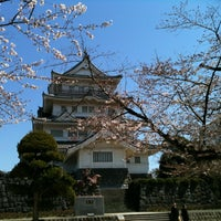 Photo taken at 千葉城 by Shavedhead on 3/29/2012