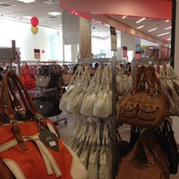 Photo taken at Century 21 Department Store by Mila B. on 4/4/2012