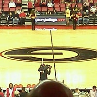 Photo taken at Stegeman Coliseum by john s. on 3/3/2012