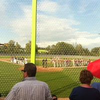 Photo taken at Heerenschuerli Baseball Stadium by OibelArt.com on 8/4/2012