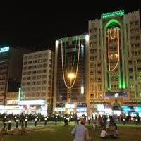 Photo taken at Choithram Baniyas Square by Richard B. on 5/3/2012