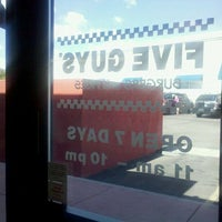 Photo taken at Five Guys by zelda s. on 9/18/2011