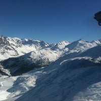 Photo taken at Courchevel Moriond 1650 by Kerim B. on 2/2/2011