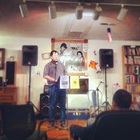 Photo taken at Uptown Bill's Coffeehouse & Neighborhood Arts Center by Jim E. on 8/31/2012
