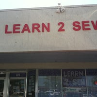 Photo taken at Learn 2 Sew by Melissa V. on 6/17/2011