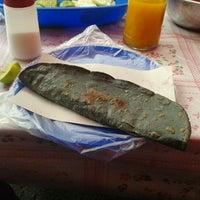 Photo taken at Quesadillas Doña Seve by Sebastian B. on 3/18/2012