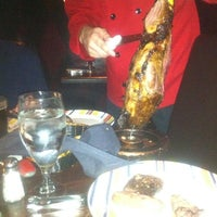 Photo taken at Brasa Brazilian Steakhouse by Jonathan S. on 4/27/2012