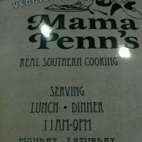 Photo taken at Mama Penn's by jawunn s. on 1/28/2012