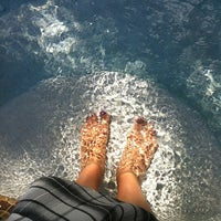 Photo taken at Toes N Pool by Adrienne R. on 4/8/2012
