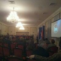 Photo taken at Centralni dom Vojske Srbije by Petar V. on 1/23/2012