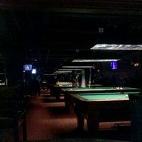 Photo taken at Society Billiards + Bar by Derek I. on 2/26/2012