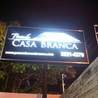 Photo taken at Pousada Casa Branca by Thamyres P. on 3/4/2012