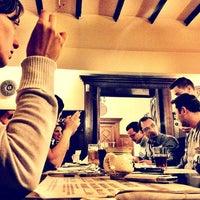 Photo taken at Hanu' Berarilor Interbelic by Flavius A. on 1/3/2012