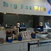 Photo taken at Big Fat Pita by Jeff M. on 11/15/2011