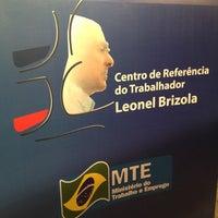 Photo taken at Centro de Referência do Trabalhador - Leonel Brizola by Jose Camillo S. on 7/3/2012
