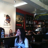 Photo taken at Easy Restaurant by Karina A. on 4/9/2011
