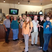Photo taken at Doffo Winery by Deborah J. on 3/21/2012