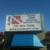 Photo taken at The Dive Shop by Benjamin C. on 11/7/2011