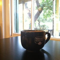 Photo taken at Hidden House Coffee by Brett R. on 1/15/2012