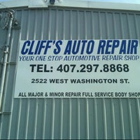Photo taken at Cliff's Auto Repair by Joey R. on 6/6/2011