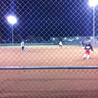 Photo taken at Freedom Park - DF Softball by CJ J. on 11/4/2011