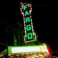 Photo taken at Fargo Theatre by Eddie G. on 1/3/2012