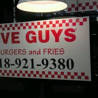 Photo taken at Five Guys by lou on 11/26/2011