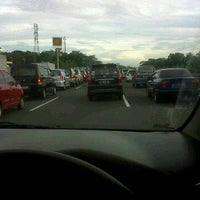 Photo taken at Cimanggis Of Toll Gate by Harry A. on 12/11/2011