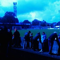 Photo taken at Silverlands (Buxton FC) by Paul W. on 8/27/2011